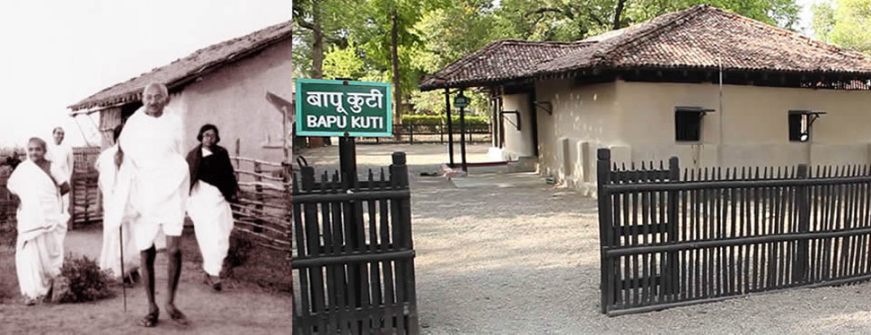 Welcome to Sevagram Ashram, founded by Mahatma Gandhi